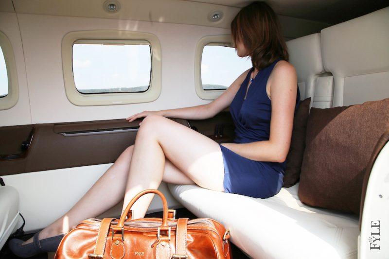 Luxus Leder-Weekender FleroM