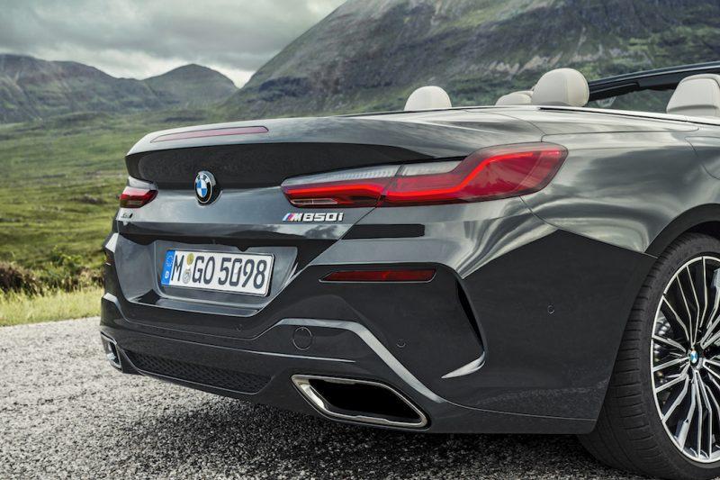 BMW 8er Cabriolet M850i Heck