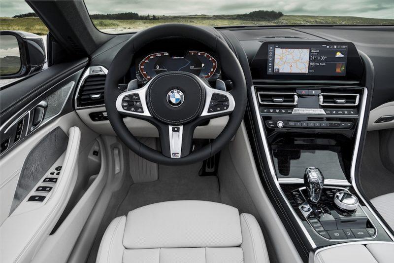 BMW 8er Cabriolet Interieur