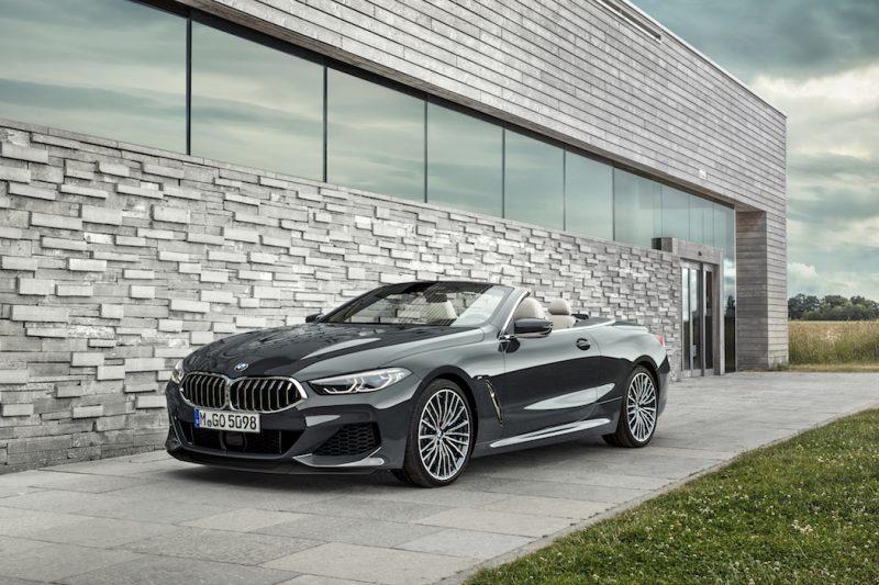 BMW 8er Cabriolet Front