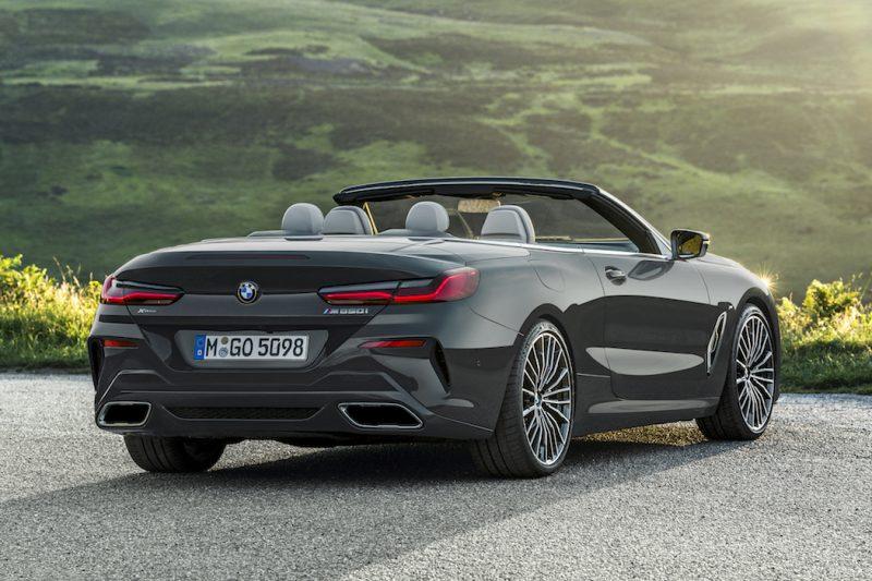 BMW 8er Cabriolet Heck