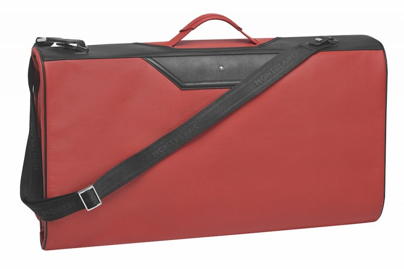 Montblanc x BMW Luggage Set rot