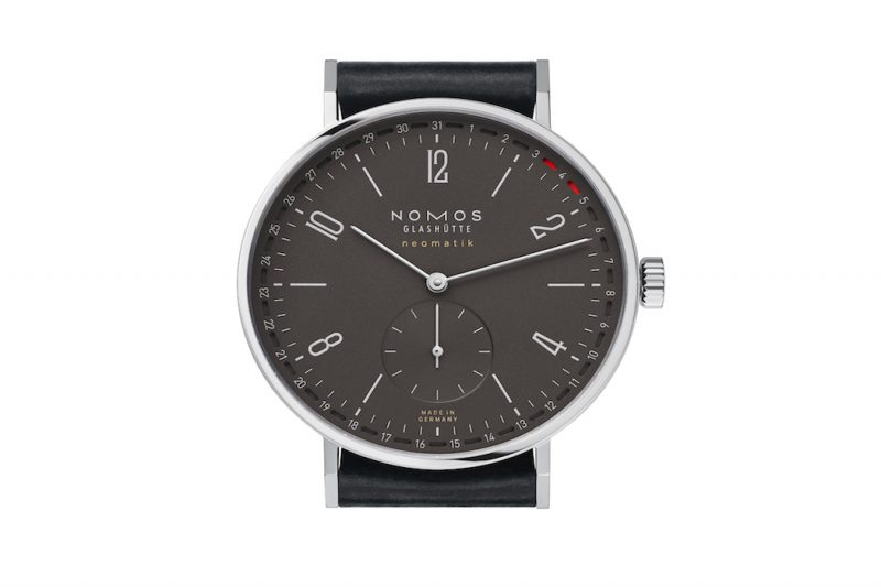 Nomos Tangente 41 Update Ruthenium Zifferblatt