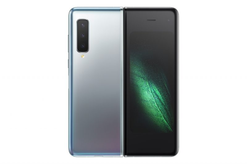 Samsung Galaxy Fold eingeklappt