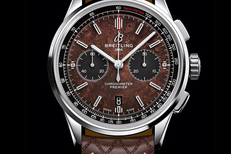 Breitling Premier Bentley Centenary Limited Edition Edelstahl