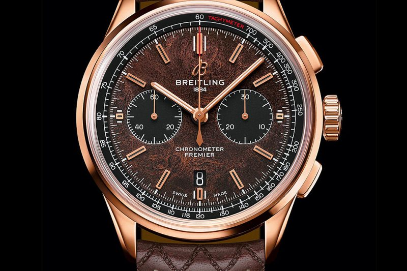 Breitling Premier Bentley Centenary Limited Edition Rotgold