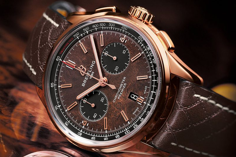 Breitling Premier Bentley Centenary Limited Edition Zifferblatt