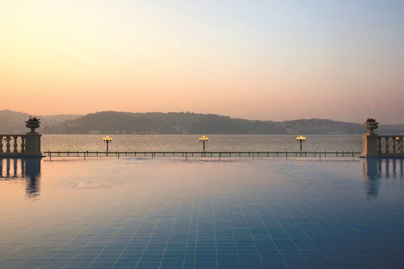 Kempinski Ciragan Palace Infinity Pool