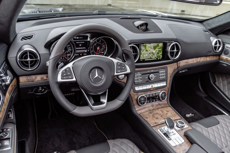 Mercedes-Benz SL Grand Edition Interieur