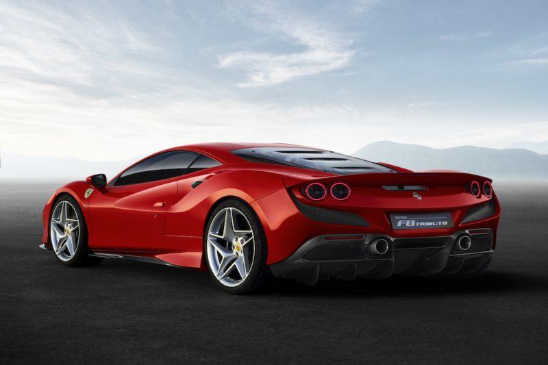Ferrari F8 Tributo Heck