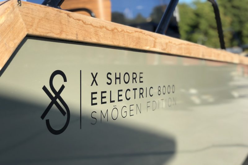 X Shore Eelectric 8000