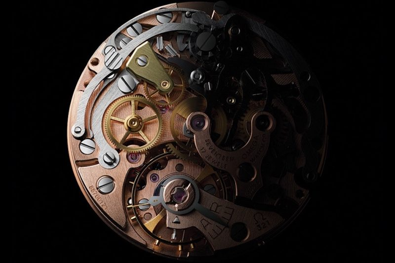 Omega Speedmaster Moonwatch 321 Platinum Uhrwerk