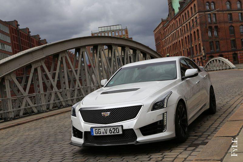 Cadillac CTS-V Front View