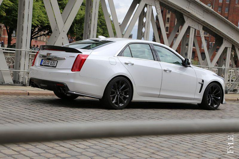 Cadillac CTS-V Heck