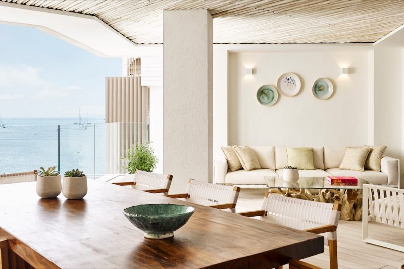 Nobu Ibiza Bay Wohnbereich
