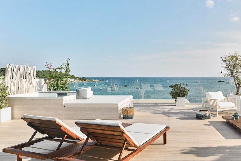 Nobu Ibiza Bay Dachterrasse