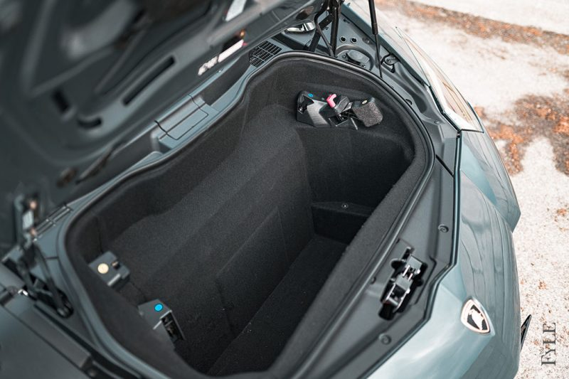 Lamborghini Aventador S Roadster Kofferraum