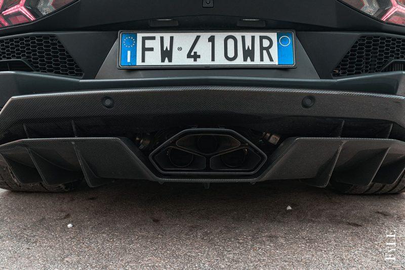 Lamborghini Aventador S Roadster Abgasanlage
