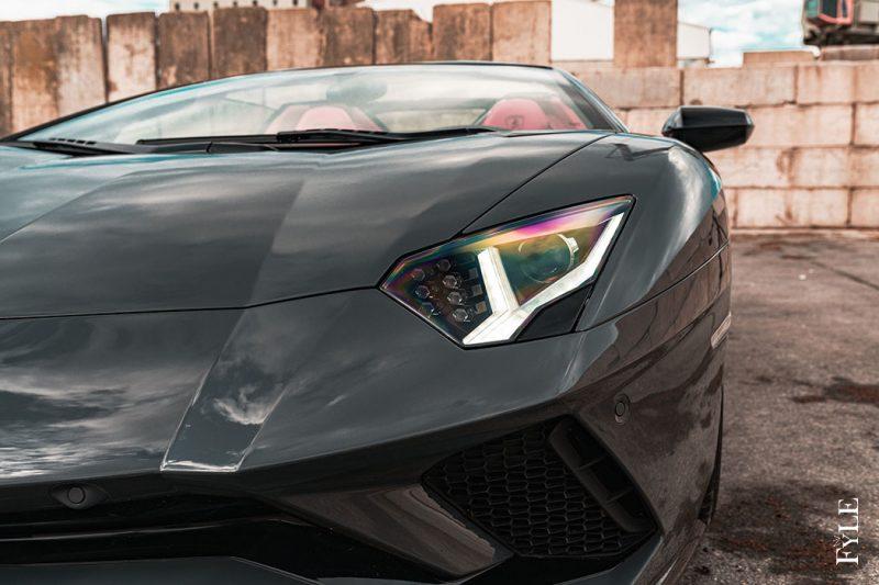 Lamborghini Aventador S Roadster Scheinwerfer