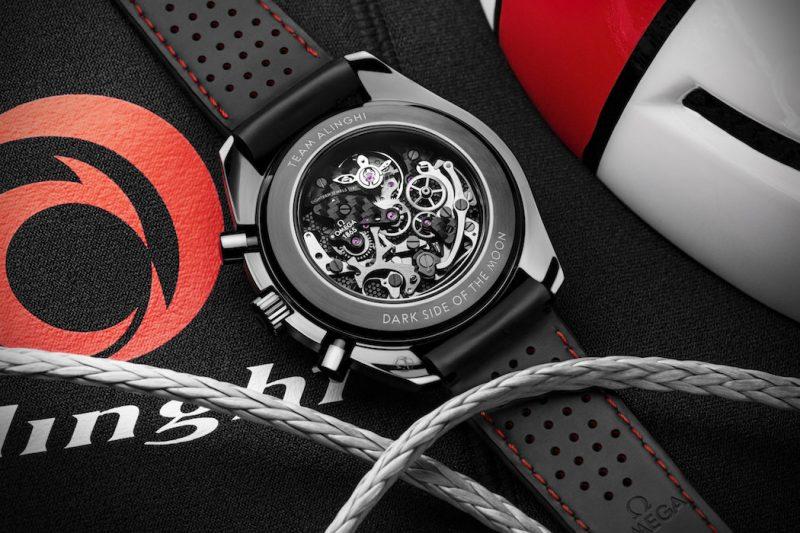 Omega Speedmaster Alinghi Rear