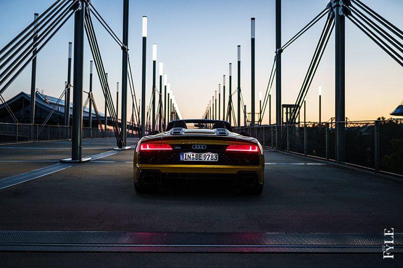 Audi R8 Spyder V10 performance Nightshot