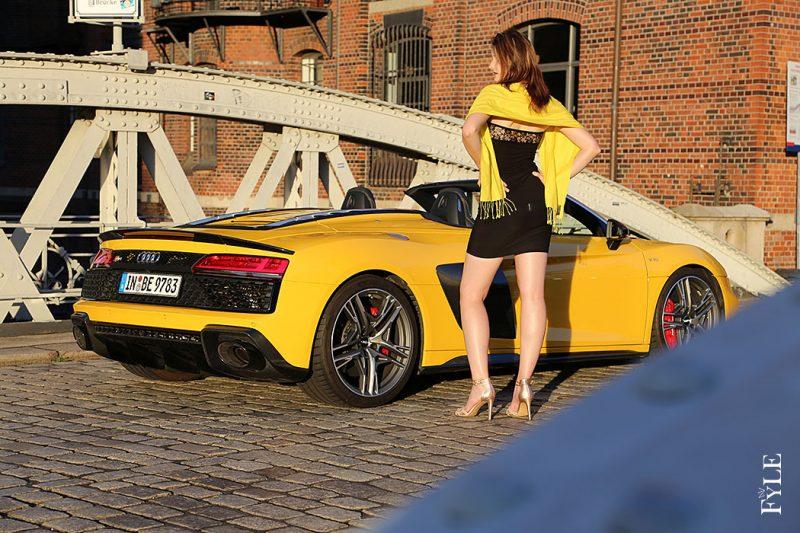 Audi R8 Spyder V10 performance urban