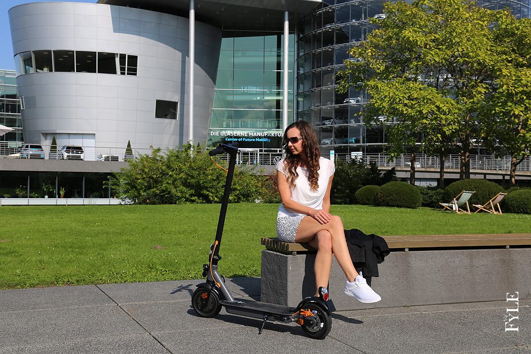 FYLE E-Scooter Trekstor eGear Center of Future Mobility