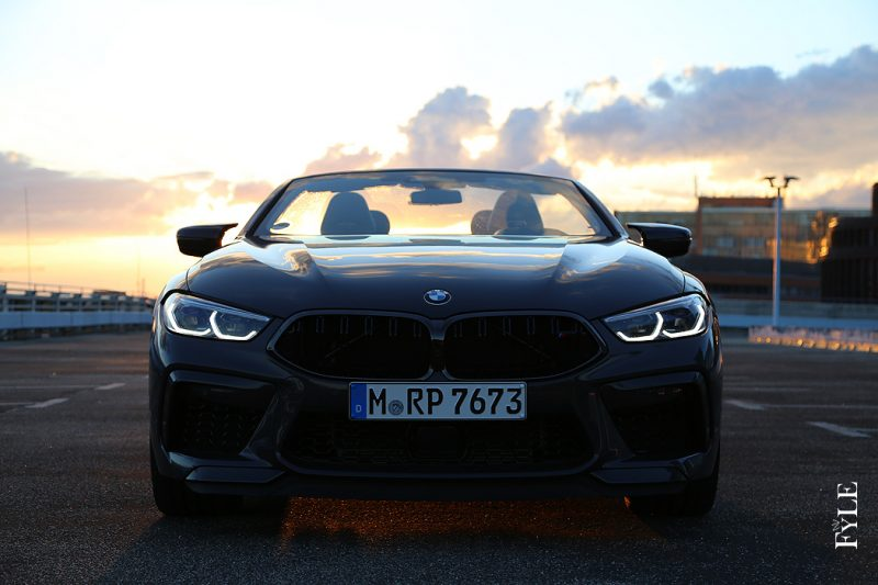 BMW M8 Competition Cabrio Front