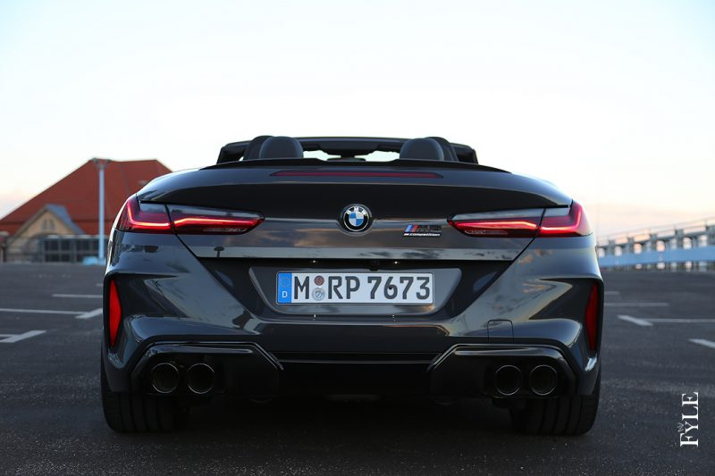 BMW M8 Competition Cabrio Heck
