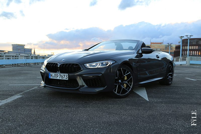 BMW M8 Competition Cabrio offen