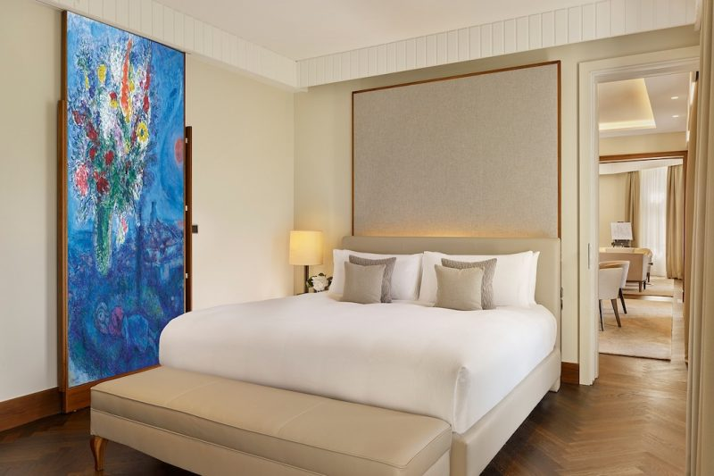 The Ritz-Carlton Vienna Albertina Suite Schlafzimmer