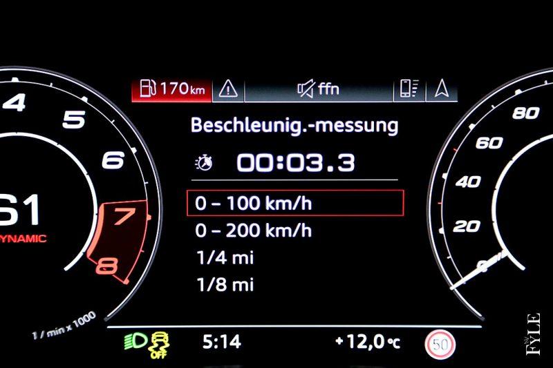 Audi RS 6 0-100