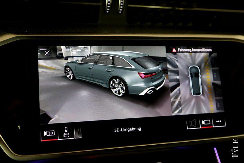 Audi RS 6 Avant 360-Grad-Kamera