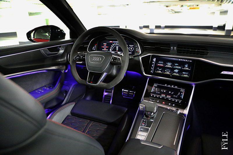 Audi RS 6 Avant Interieur