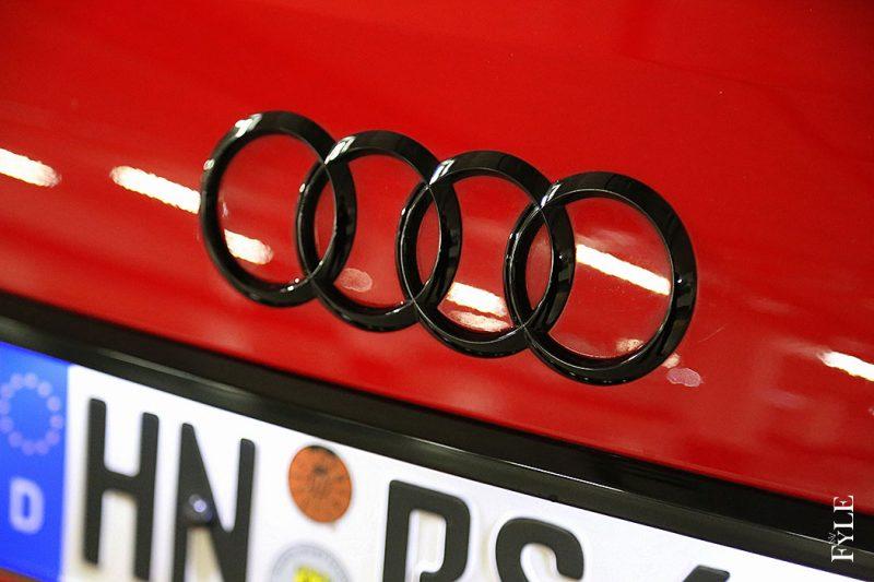 Audi Ringe schwarz