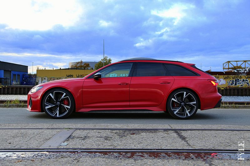 Audi RS 6 Avant Seite