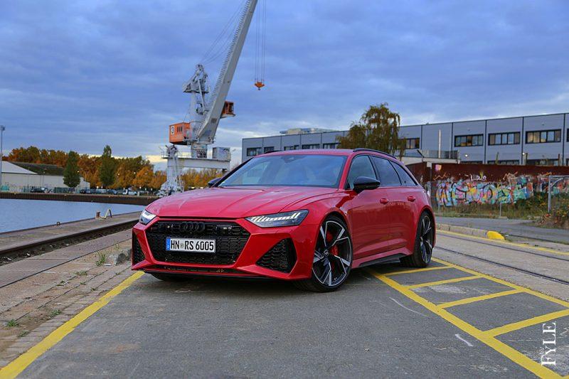 Audi RS 6 Avant Tangorot Metallic