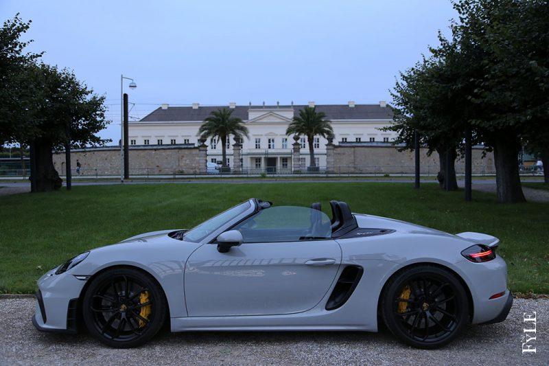 Porsche 718 Spyder offen
