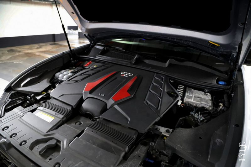 Audi RS Q8 Motor