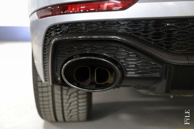 Audi RS Q8 Endrohr